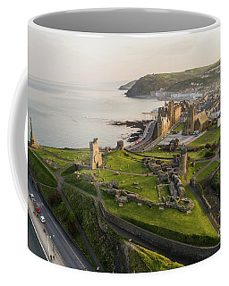 Aberystwyt Castle At Dawn Coffee Mug