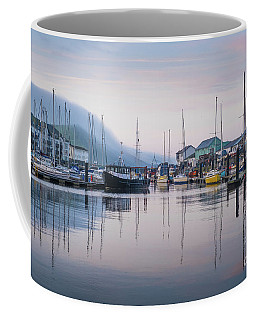 Aberystwyth Harbour In The Eatly Morning Coffee Mug