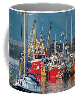 Aberystwyth Harbour Coffee Mug