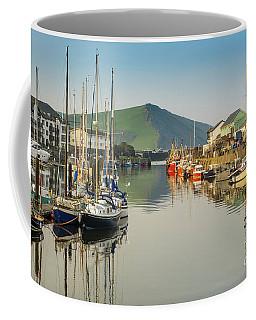 Aberystwyth Marina At Daybreak Coffee Mug