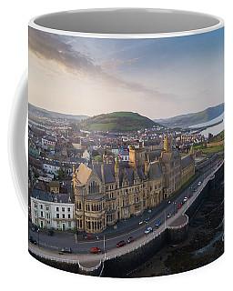 Aberystwyth Old College At Dawn Coffee Mug