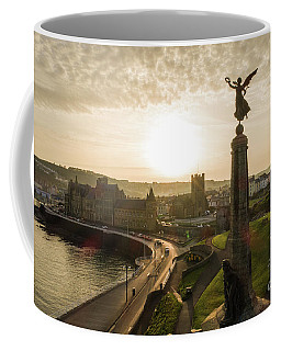 Aberystwyth War Memorial At Dawn Coffee Mug