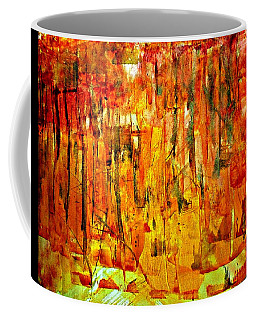 Coffee Mug featuring the painting Ablaze by 'REA' Gallery