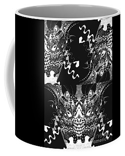 About The I In The Sky - Night Vision Coffee Mug