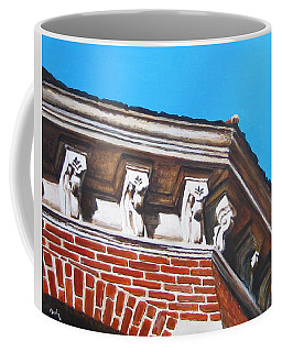 Above Hall A Coffee Mug