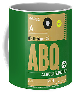 Abq Albuquerque Luggage Tag I Coffee Mug