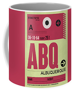Abq Albuquerque Luggage Tag II Coffee Mug