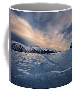 Abraham Lake Ice Wall Coffee Mug