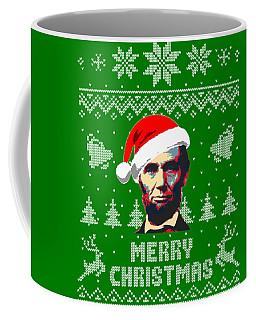 Abraham Lincoln Merry Christmas Coffee Mug