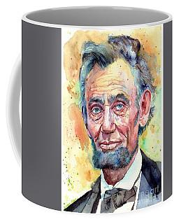 Abraham Lincoln Portrait Coffee Mug