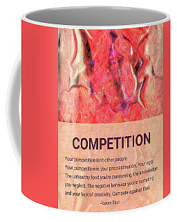 Abstract Art - Competitive Transformations - By Omaste Witkowski Coffee Mug