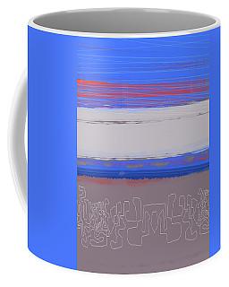 Abstract  Blue View 1 Coffee Mug