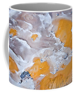Abstract Colors In Yellowstone Coffee Mug