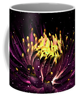 Abstract Digital Dahlia Floral Cosmos 891 Coffee Mug