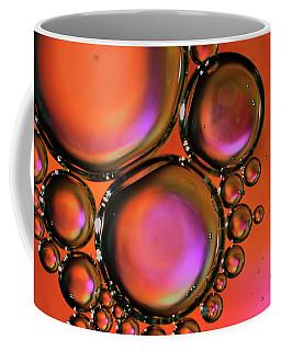 Abstract Droplets Coffee Mug