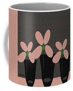 Abstract Floral Art 394 Coffee Mug