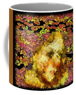 Abstract Flower Girl Coffee Mug