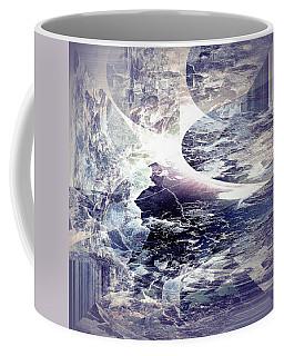 Abstract Ocean Enigma Coffee Mug