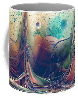Coffee Mug featuring the digital art Turbulence by Robert G Kernodle