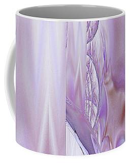 Coffee Mug featuring the digital art Liquid Lavender by Robert G Kernodle