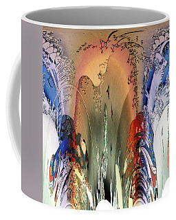 Abstract Utagawa Kunisada Coffee Mug