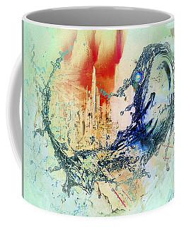 Abstract Water Splash Coffee Mug