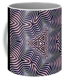 Abstract Zebra Design Coffee Mug