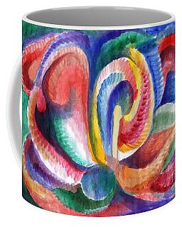 Abstraction Bloom Coffee Mug