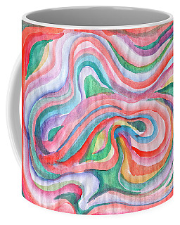 Abstraction In Spring Colors Coffee Mug