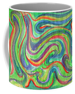 Abstraction In Summer Colors Coffee Mug