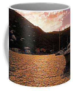Abstractions Of Coral Bay Coffee Mug