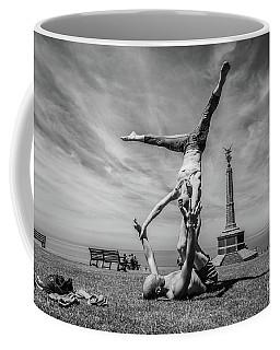 Acroyoga In Aberystwyth Coffee Mug