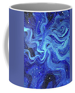 Acrylic Galaxy Painting Coffee Mug
