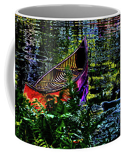 Coffee Mug featuring the photograph Adirondack Guide Boat by David Patterson