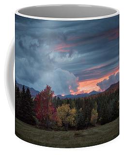 Adirondack Loj Road Sunset Coffee Mug