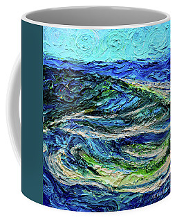 Aerial View Of Presque Isle Lake Erie Coffee Mug