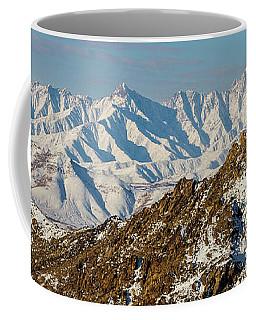 Coffee Mug featuring the photograph Afghanistan Hindu Kush Snowy Peaks by SR Green