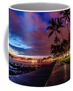 After Sunset At Kona Inn Coffee Mug