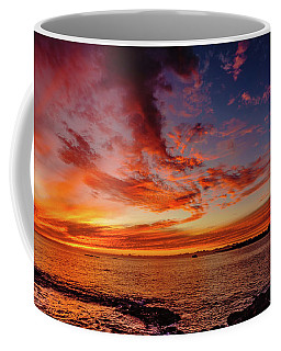 After Sunset Colors At Kailua Bay Coffee Mug