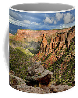 After The Storm Light On Colorado National Monument Coffee Mug
