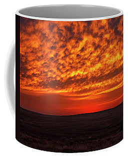 Coffee Mug featuring the photograph Afterglow 02 by Rob Graham