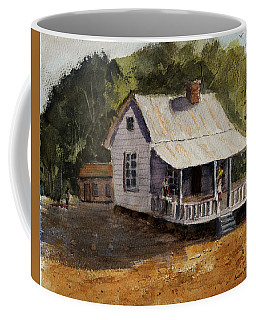 Coffee Mug featuring the painting Afternoon At Grandma's by Barry Jones