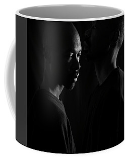 Coffee Mug featuring the photograph Against The Wall by Eric Christopher Jackson