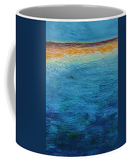 Coffee Mug featuring the painting Aguamarina by Norma Duch