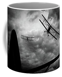 Coffee Mug featuring the photograph Air Pursuit by Bob Orsillo
