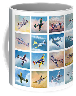 Airplane Poster Coffee Mug
