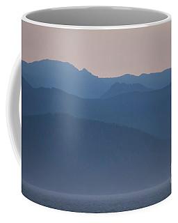 Alaska Inside Passage Mountains Coffee Mug