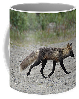 Alaskan Cross Fox Coffee Mug