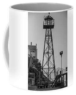 Coffee Mug featuring the photograph Alcatraz Light House by Stuart Manning