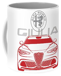 Alfa 2017 Giulia Coffee Mug
